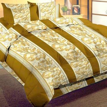 Lenjerii de pat imprimate din bumbac satinat - Baroque